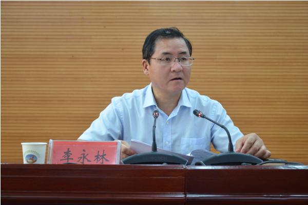 宝鸡市人民政府副秘书长李永林主持会议并讲话 - 农业厅图片