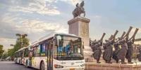 逾千辆海格新能源公交车畅行西安 - 西安网