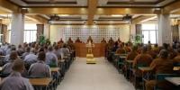 陕西法门寺佛学院2018春季开学典礼隆重举行 - 佛教在线