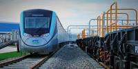西安北至机场城际铁路首列车交付 - 人民政府
