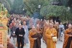 台湾中华人间佛教联合总会访问团参礼西安宗派祖庭 - 佛教在线