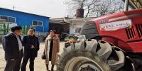 西安市农机部门检查各涉农区县农机系统扫黑除恶工作 - 农业机械化信息