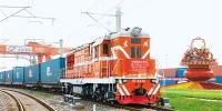 中欧班列首列长安号(西安—莫斯科)果汁专列从西安港发车 - 西安网