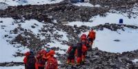 (2020珠峰高程测量)(1)2020珠峰高程测量登山队冲顶组再出发 - 西安网