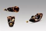 镶金兽首玛瑙杯:含华炳丽暗琼觞 - 西安网