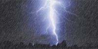 西安发布雷电黄色预警!雷电+降雨+7级风在路上 - 西安网