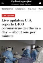 北美观察丨美国新冠死亡再创新高 民众开始考虑移民外逃 - 西安网