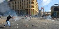 (国际)(4)黎巴嫩首都发生大规模示威活动 - 西安网